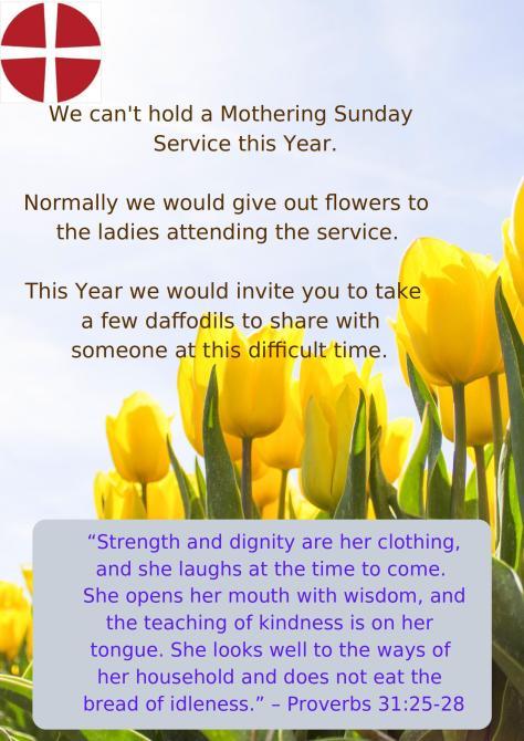 Mothering Sunday Flowers 2020-1